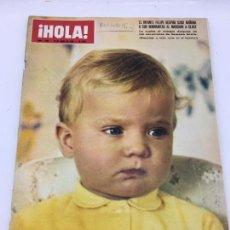 Coleccionismo de Revista Hola: ¡HOLA! - Nº 1286 - 19 ABRIL DE 1969 - INFANTE FELIPE - FUNERALES DE EISENHOWER - ADAMO TENTATIVA DE. Lote 226956500