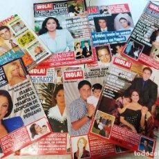 Collectionnisme de Magazine Hola: LOTE DE 8 REVISTAS HOLA - ISABEL PANTOJA, PAQUIRRIN , PAQUIRRI, CARMEN ORDOÑEZ, Y MAS. Lote 227024800