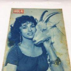 Coleccionismo de Revista Hola: ¡HOLA! - Nº 684 DEL 5 DE OCTUBRE DE 1958 - GINA LOLLOBRIGIDA. Lote 227090915