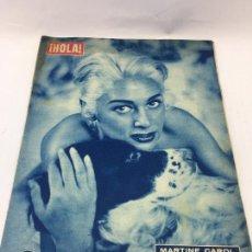 Collezionismo di Rivista Hola: ¡HOLA! - Nº 723 DEL 5 DE JUNIO DE 1958 - MARTINE CAROL DE VACACIONES. Lote 227091181