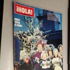 Collectionnisme de Magazine Hola: REVISTA ¡HOLA! Nº 1321 / 20 DE DICIEMBRE DE 1969. Lote 227235415