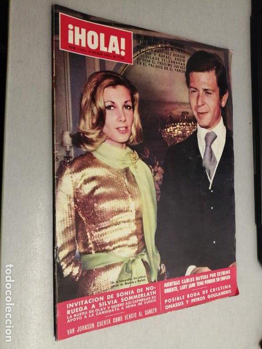 REVISTA ¡HOLA! Nº 1542 / 16 DE MARZO DE 1974 (Coleccionismo - Revistas y Periódicos Modernos (a partir de 1.940) - Revista Hola)