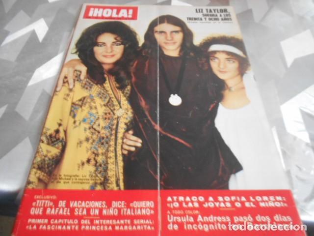 HOLA - 24-10-1970 - URSULA ANDRESS 6F 2P (Coleccionismo - Revistas y Periódicos Modernos (a partir de 1.940) - Revista Hola)
