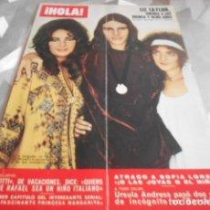 Collectionnisme de Magazine Hola: HOLA - 24-10-1970 - URSULA ANDRESS 6F 2P. Lote 227974635