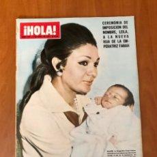 Colecionismo da Revista Hola: REVISTA HOLA, NUMERO 1337, 11 DE ABRIL DE 1970. Lote 228524230