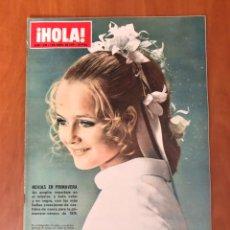 Collectionnisme de Magazine Hola: REVISTA HOLA, NUMERO 1336, 4 DE ABRIL DE 1970. Lote 228524290