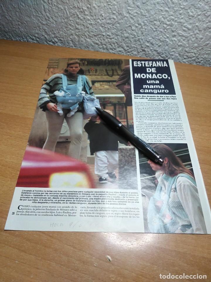 ESTEFANIA DE MONACO . HOLA 9/6/94 (Coleccionismo - Revistas y Periódicos Modernos (a partir de 1.940) - Revista Hola)