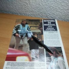 Coleccionismo de Revista Hola: ESTEFANIA DE MONACO . HOLA 9/6/94. Lote 229863795