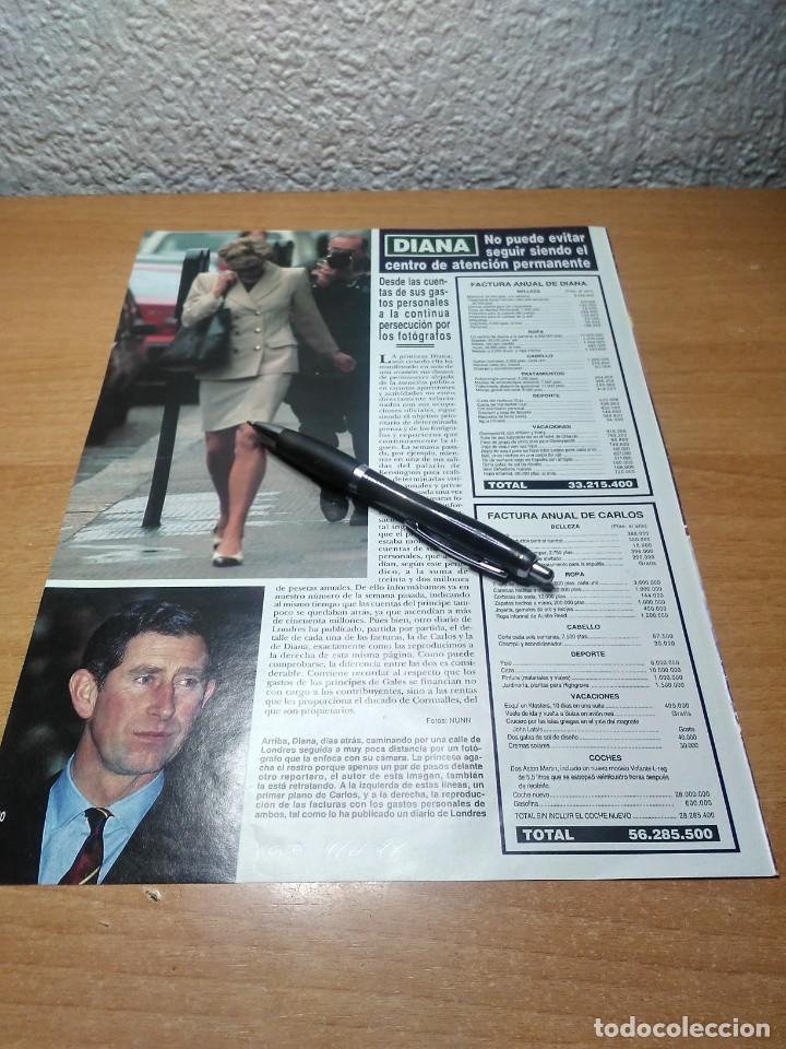 DIANA DE GALES HOLA 9/6/94 (Coleccionismo - Revistas y Periódicos Modernos (a partir de 1.940) - Revista Hola)