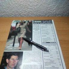 Coleccionismo de Revista Hola: DIANA DE GALES HOLA 9/6/94. Lote 229866140