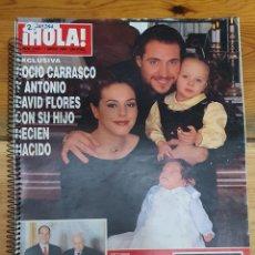 Collezionismo di Rivista Hola: 45284 - REVISTA HOLA - Nº 2839 - EN PORTADA ROCIO CARRASCO Y DAVID FLORES. Lote 230214780