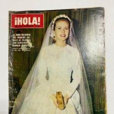 Coleccionismo de Revista Hola: ¡HOLA! Nº 1303. AGOSTO,1969.LA BODA RELIGIOSA DEL PRINCIPE JACQUES DE FRANCIA CON GERSENDE DE SABRAN. Lote 230342675