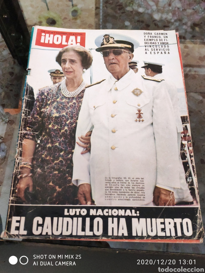 REVISTA HOLA (N° 1631, 29 NOVIEMBRE 1975) (Coleccionismo - Revistas y Periódicos Modernos (a partir de 1.940) - Revista Hola)