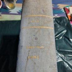 Coleccionismo de Revista Hola: HOLA ENERO A JULIO 1961 ENCUADERNADO 30 REVISTAS. Lote 232017640