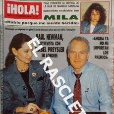 Coleccionismo de Revista Hola: ANTIGUA REVISTA HOLA - Nº 2219 - FEBRERO 1987. Lote 233995445