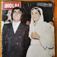 Coleccionismo de Revista Hola: HOLA Nº 1354 DE 1970- ROMINA POWER AL BANO- GRACE DE MONACO- SOFIA LOREN- DUQUESA ALBA- CHARLES BRON. Lote 234694215
