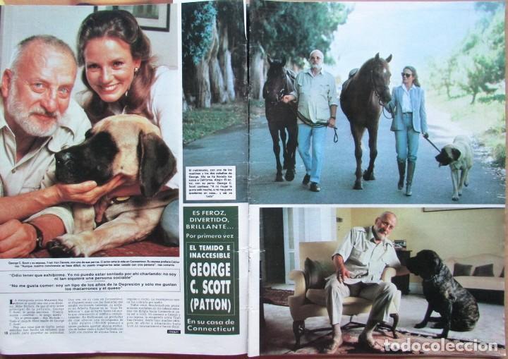 RECORTE REVISTA HOLA N.º 2155 1985 GEORGE C. SCOTT. PATTON. 5 PGS (Coleccionismo - Revistas y Periódicos Modernos (a partir de 1.940) - Revista Hola)