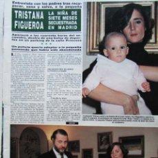 Coleccionismo de Revista Hola: RECORTE REVISTA HOLA N.º 2155 1985 TRISTANA FIGUEROA 2 PGS. Lote 235138105