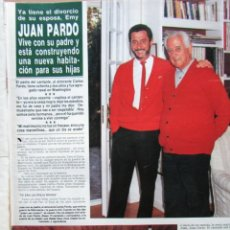Coleccionismo de Revista Hola: RECORTE REVISTA HOLA N.º 2155 1985 JUAN PARDO 4 PGS. Lote 235149900
