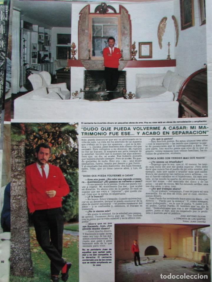 Coleccionismo de Revista Hola: RECORTE REVISTA HOLA N.º 2155 1985 JUAN PARDO 4 PGS - Foto 2 - 235149900