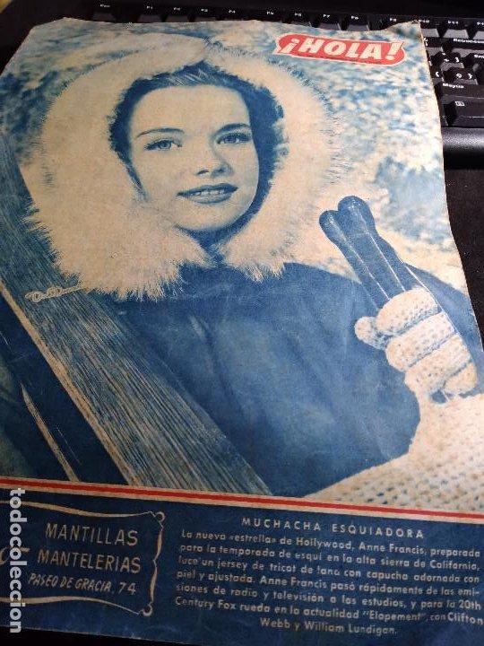 REVISTA * HOLA * Nº 380 - FEBRERO 1952 (Coleccionismo - Revistas y Periódicos Modernos (a partir de 1.940) - Revista Hola)