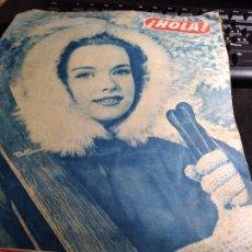 Coleccionismo de Revista Hola: REVISTA * HOLA * Nº 380 - FEBRERO 1952. Lote 235231040
