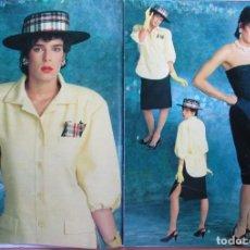 Coleccionismo de Revista Hola: RECORTE NUMERO ESPECIAL PRIMAVERA-VERANO 1985 ESTEFANIA DE MÓNACO. PORTADA Y 15 PGS. Lote 235349845