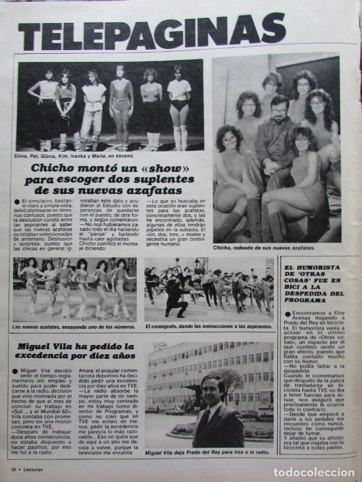 RECORTE REVISTA N.º 1624 1983 UN, DOS, TRES... (Coleccionismo - Revistas y Periódicos Modernos (a partir de 1.940) - Revista Hola)