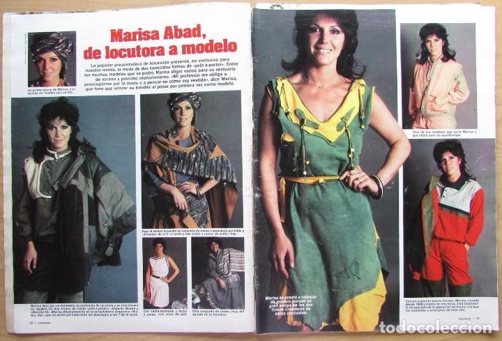 RECORTE REVISTA N.º 1624 1983 MARISA ABAD (Coleccionismo - Revistas y Periódicos Modernos (a partir de 1.940) - Revista Hola)