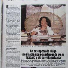Coleccionismo de Revista Hola: RECORTE REVISTA N.º 1624 1983 JOSETTE NAHMIAS 3 PGS. Lote 235350295
