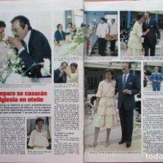 Coleccionismo de Revista Hola: RECORTE REVISTA N.º 1624 1983 LUIS SANCHEZ POLACK, TIP. Lote 235352990