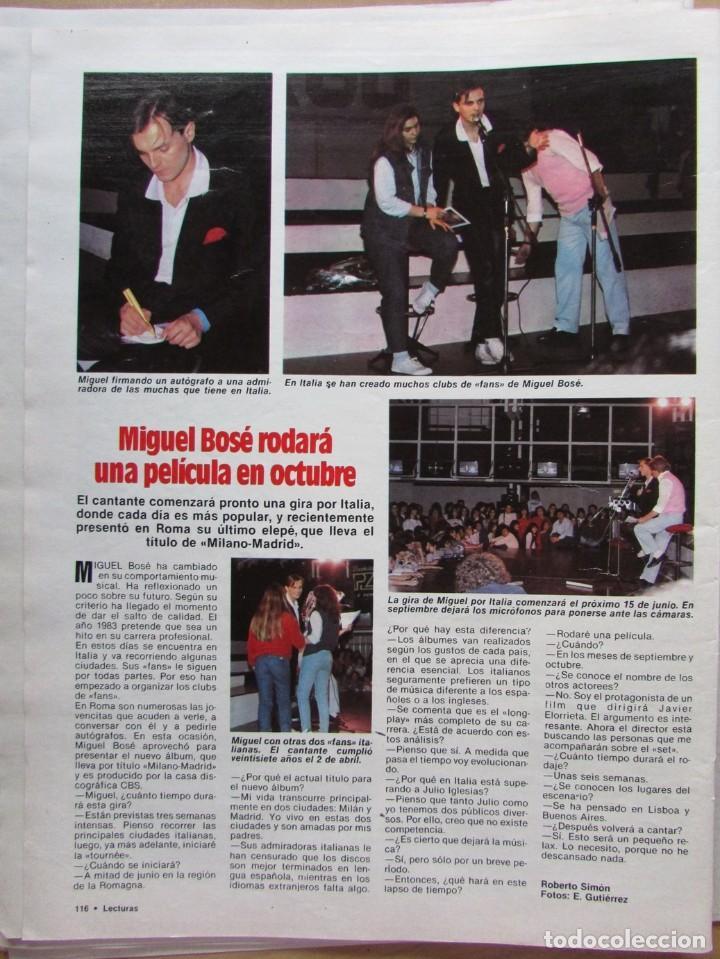 Coleccionismo de Revista Hola: RECORTE REVISTA N.º 1624 1983 BÁRBARA BACK, RINGO STARR, MIGUEL BOSÉ - Foto 2 - 235353140