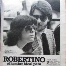 Coleccionismo de Revista Hola: RECORTE REVISTA N.º 1624 1983 CAROLINA DE MÓNACO, ROBERTINO ROSSELLINI 5 PGS. Lote 235353425