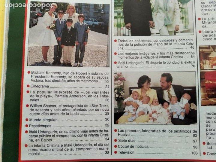 Coleccionismo de Revista Hola: HOLA - Nº 2753 - MAYO 1997 - PETICION DE MANO DE LA INFANTA CRISTINA - (VER SUMARIO....) - Foto 3 - 235567395