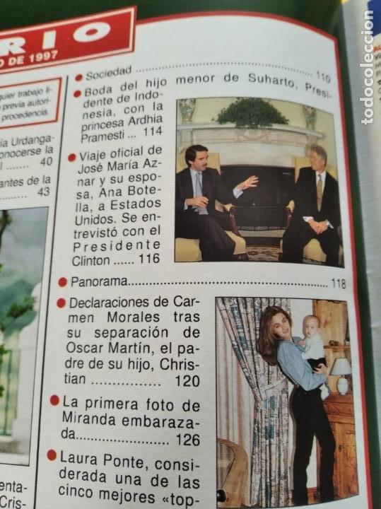 Coleccionismo de Revista Hola: HOLA - Nº 2753 - MAYO 1997 - PETICION DE MANO DE LA INFANTA CRISTINA - (VER SUMARIO....) - Foto 4 - 235567395