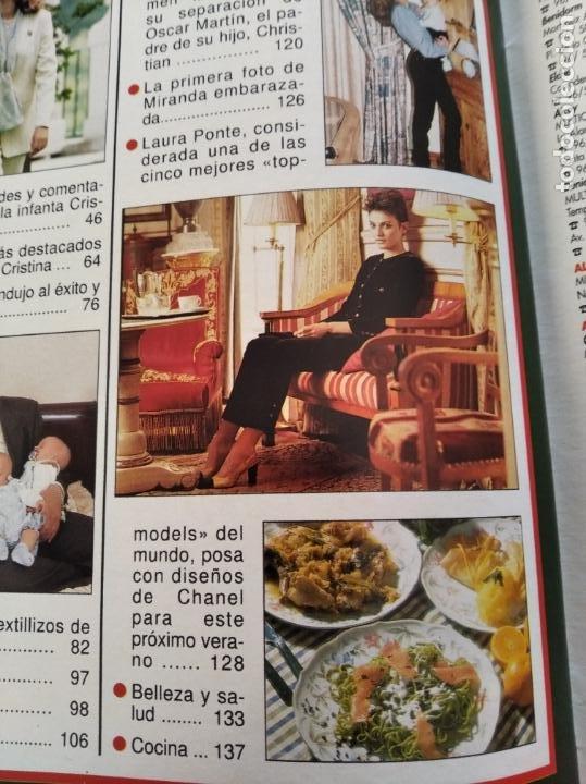 Coleccionismo de Revista Hola: HOLA - Nº 2753 - MAYO 1997 - PETICION DE MANO DE LA INFANTA CRISTINA - (VER SUMARIO....) - Foto 5 - 235567395