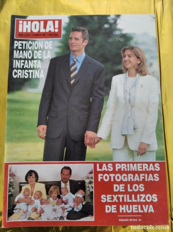 HOLA - Nº 2753 - MAYO 1997 - PETICION DE MANO DE LA INFANTA CRISTINA - (VER SUMARIO....) (Coleccionismo - Revistas y Periódicos Modernos (a partir de 1.940) - Revista Hola)
