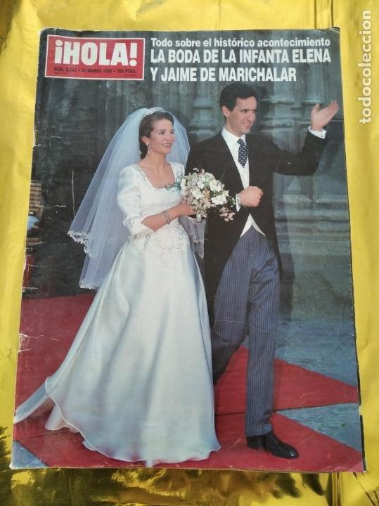 HOLA - Nº 2642 - MARZO 1995 - BODA INFANTA ELENA Y JAIME DE MARICHALAR - (Coleccionismo - Revistas y Periódicos Modernos (a partir de 1.940) - Revista Hola)