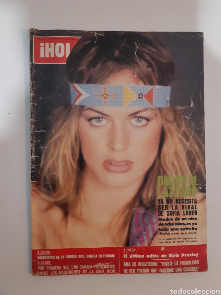 HOLA NUM 1723 3 DE SEPTIEMBRE 1977 (Coleccionismo - Revistas y Periódicos Modernos (a partir de 1.940) - Revista Hola)