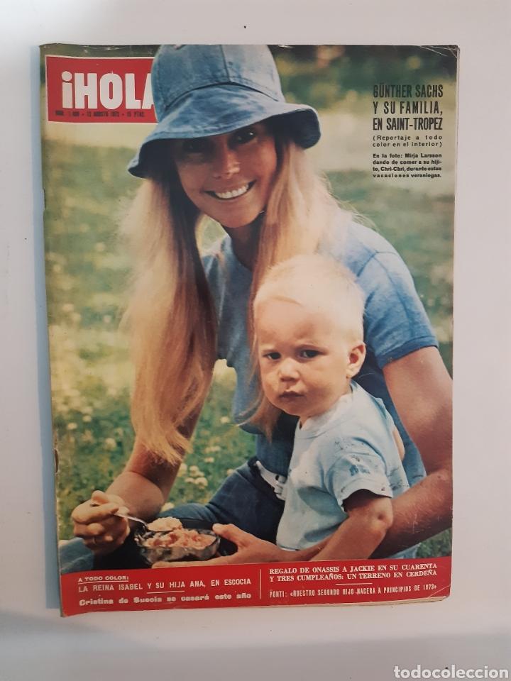 HOLA N°1459 12/8/1972 GÜNTHER SACHS (Coleccionismo - Revistas y Periódicos Modernos (a partir de 1.940) - Revista Hola)
