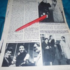 Collezionismo di Rivista Hola: RECORTE : MARIA CALLAS Y PAOLO PASOLINI. HOLA, MARZO 1970(#). Lote 239546255