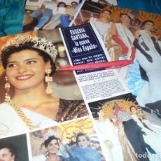 Collezionismo di Rivista Hola: RECORTE : EUGENIA SANTANA, NUEVA MISS ESPAÑA. HOLA, FBRO 1993(#). Lote 241478085