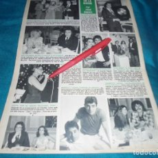 Collectionnisme de Magazine Hola: RECORTE : CAMILO SESTO, LONG PLAY DE PLATINO. JEANETTE. ROCIO DURCAL. HOLA, MARZO 1979(#). Lote 241635145