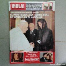 Coleccionismo de Revista Hola: AÑO 1998 2786 ENRIQUE PONCE ROCÍO JURADO RICKY MARIN DODI AL FAYED SPICE GIRLS DANIEL DUCRUET. Lote 241675540