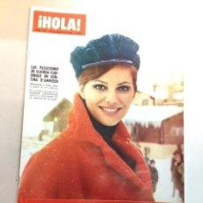 Collezionismo di Rivista Hola: HOLA 1221-1968.CLAUDIA CARDINALE-ROMY SCHNEIDER-SYLVIE VARTAN-BRIGITTE BARDOT-BEATLES. Lote 241795780