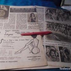Collezionismo di Rivista Hola: RECORTE : MISS UNIVERSO 1963, VISITARA ESPAÑA. HOLA, JULIO 1963(#). Lote 241842680