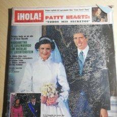 Coleccionismo de Revista Hola: HOLA NUM.1962 3 ABRIL 1982 BODA MARGARITA LUXEMBURGO.MARIA BURTON.PRICIPE FELIPE .CARMINA ORDONEZ. Lote 241962855