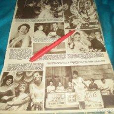 Coleccionismo de Revista Hola: RECORTE : MISS INGLATERRA. MISS EUROPA. HOLA, JUNIO 1962(#). Lote 242071580