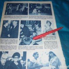 Collezionismo di Rivista Hola: RECORTE : LA TUNA DE BARCELONA CANTA PARA LAS PRINCESAS. MISS FRANCIA. HOLA, ENERO 1964(#). Lote 243207820