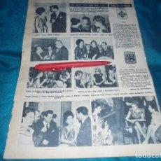 Coleccionismo de Revista Hola: RECORTE : CARMEN SEVILLA EN COCTEL. HOLA, ENERO 1964(#). Lote 243208075